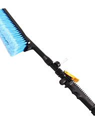 abordables -1pc Plastique PVC Brosse de lavage de voiture Réutilisable Bleu 28*7*4 cm
