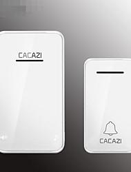 Недорогие -fa8 smart два буксира беспроводной домашний дверной звонок цифровой регулируемый музыкальный пульт дистанционного пейджер водонепроницаемый один на один дин дон дом безопасности дома