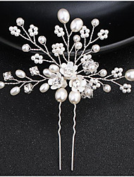 cheap -Women's Cute Elegant Imitation Pearl Alloy Daily Wedding Party - Floral