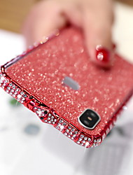 cheap -Case For Apple iPhone XS / iPhone XR / iPhone XS Max Rhinestone / Glitter Shine Back Cover Glitter Shine Hard Metal