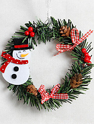 cheap -Holiday Decorations Holidays & Greeting Decorative Objects Decorative White / Brown / Red 1pc