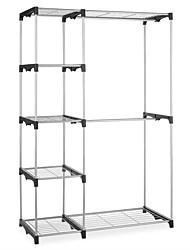 Недорогие -отдельно стоящий шкаф для хранения одежды с подвесными штангами