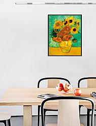 cheap -Framed Art Print Framed Set - Floral / Botanical PS Oil Painting Wall Art