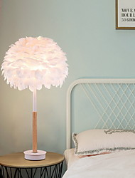 Недорогие -Настольная лампа Новый дизайн Художественный / Северный стиль Назначение Спальня / Кабинет / Офис Пластик 220 Вольт