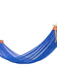 Недорогие -Туристический гамак На открытом воздухе Компактность Дышащий Ультралегкий (UL) Ледяной шелк для 1 человек Походы На открытом воздухе В помещении Бледно-розовый цвет Зеленый Тёмно-синий 200*130 cm