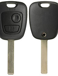 cheap -Two Buttons Remote Full Repair Kit Key Fob Case For TOYOTA AYGO