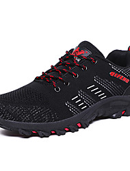 cheap -Men's Comfort Shoes Tissage Volant Spring & Summer / Fall & Winter Sporty / Casual Athletic Shoes Running Shoes / Fitness & Cross Training Shoes Breathable Black / Army Green / Gray / Non-slipping