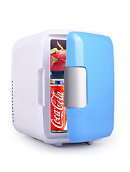cheap -4L Portable Fridge car refrigerator Cans Beer Cooler Heating and Cooling Box 220V/12V Eletric Home Mini Dropshipping