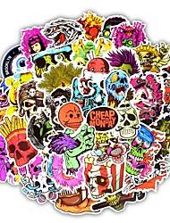 cheap -50Pcs/Set Terror Type Vivid Color Stickers Fashion Graffiti Decals