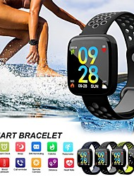 cheap -C15 Smart Bracelet Heart Rate Monitor Blood Pressure Blood Oxygen Band Remote Camera Music Control Clock pk Fitbits