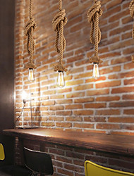 cheap -1-Light MAISHANG® 3.5 cm New Design Pendant Light Hemp Rope Retro 110-120V / 220-240V