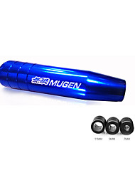 cheap -Universal 13cm/17cm Length Manual Car Gear Shift Knob Aluminium Alloy Racing Mugen Shift Knob