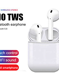 cheap -LITBest i10 TWS Bluetooth 5.0 Earphone Wireless Stereo Bass Earbuds Sport Headphones with Touch Control Charging Box for Iphone Xiaomi Samsung