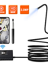 cheap -5.5mm 1080phd wifi inspection camera 3.5m length wifi borescope with 6 led lights waterproof endoscope for android ios iphone huawei