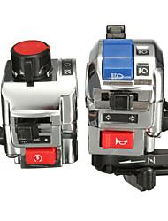 cheap -7/8 inch Handlebar Horn Turn Signal Light Start Control Switch Motorcycle Universal