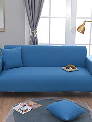 cheap -Sofa Cover High Stretch Solid Combinatorial Soft Elastic Polyester Slipcovers