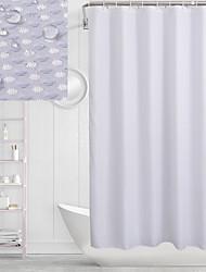 cheap -Shower Curtains Modern Polyester Machine Made Waterproof Bathroom