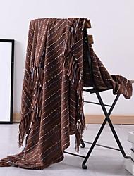 Недорогие -Многофункциональные одеяла, Однотонный Акриловые волокна Мягкость одеяла