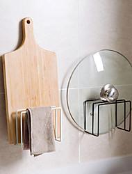 cheap -Wall-mounted Ironwork Chopping Board Shelf Rack Kitchen Storage Rack