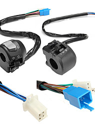 cheap -12V 22mm 7/8inch Electric Start Switch For Motorcycle Horn Turn Signal Hazard Beam