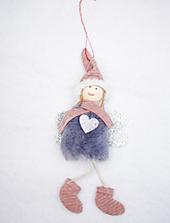 cheap -Holiday Decorations Christmas Decorations Christmas Ornaments Decorative Red / Blue 1pc