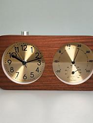 Недорогие -часы настольные часы современные современные деревянные квадратные