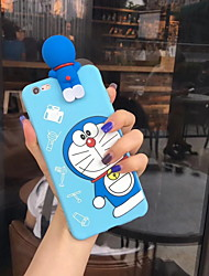 cheap -Case For Apple iPhone X / iPhone 8 Plus / iPhone 8 Pattern Back Cover Cartoon Soft Silica Gel