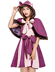 cheap -Movie / TV Theme Costumes Cat Cosplay Costume Masquerade Adults' Women's Party / Evening Halloween Christmas Halloween Carnival Festival / Holiday Polyster Purple Carnival Costumes Cat Cartoon Image
