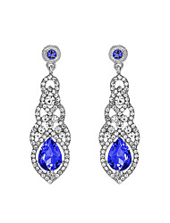 cheap -Rhinestone / Alloy Earring with Crystal / Rhinestone 1 Pair Wedding / Party / Evening Headpiece