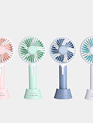 cheap -1PC Portable Hand-Held Outdoor Simple Fan Creative Aromatherapy Usb Charging Three-Stage Desktop Office Small Fan