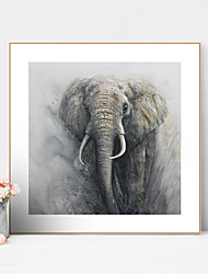 cheap -Framed Art Print Framed Canvas Prints - Animals PS Oil Painting Wall Art