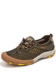cheap -Men's Hiking Shoes Breathable Anti-Slip Wear Resistance Hiking Climbing Autumn / Fall Summer Brown Grey khaki