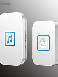 cheap -Music electronic remote control Ding Dong exchange one for one wireless doorbell