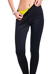 cheap -High Rise Running Tights Sports Winter Pants / Trousers Running Fitness Quick Dry Soft Tummy Control Color Block Fashion Black / Stretchy