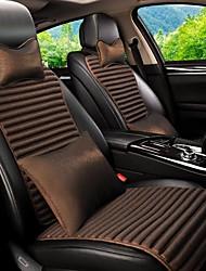 cheap -Car Seat Covers Headrest & Waist Cushion Kits Purple / Coffee / Blue Leather Sports For universal