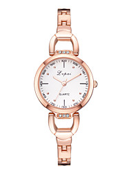 cheap -Women's Quartz Watches Quartz Modern Style Novelty Casual Cute Silver / Rose Gold Analog - Rose Gold Black Blushing Pink