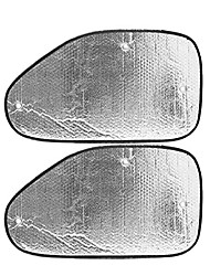 Недорогие -2 шт. Серебристый авто боковое окно солнцезащитный козырек крышка блока с присосками