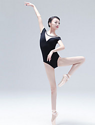 cheap -Ballet Leotards Women's Training Cotton Split Joint Sleeveless Leotard / Onesie