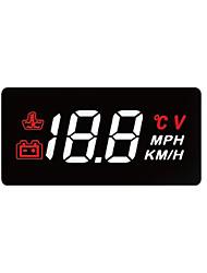 Недорогие -индикатор Дисплей заголовка LED индикатор для Автомобиль Измерение скорости движения
