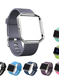 cheap -1 PCS Watch Band for Fitbit Sport Band Silicone Wrist Strap for Fitbit Blaze