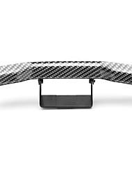 cheap -Mini Carbon Fiber Rear Tail Spoiler Wing Empennage Body Kit Trim Decoration