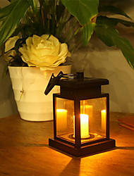 cheap -Solar Power LED Candle Light Outdoor Garden Yard Landscape Lantern Hanging Lamp