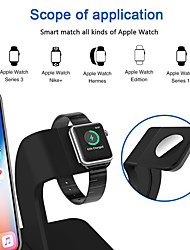 cheap -2 in 1 Qi Wireless Charger Stand Apple Watch Charging Stand for iPhone X/8/8 Plus Apple Watch Series 321