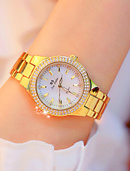 cheap -Women's Quartz Watches Quartz Formal Style Luxury Casual Watch Analog Gold Silver Light Gold / One Year / Stainless Steel / One Year