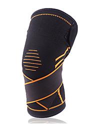 cheap -Knee Brace for Running Racing Basketball Impact Resistant Non Slip Nylon 1 Piece Sports & Outdoor Black Red Orange