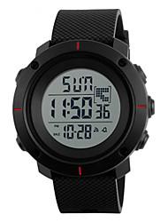 Недорогие -SKMEI Муж. электронные часы Цифровой Черный / Цвет клевера 30 m Защита от влаги Календарь Фосфоресцирующий Цифровой На открытом воздухе - Красный Зеленый Синий Два года Срок службы батареи