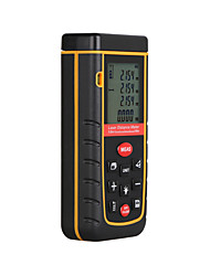 cheap -RZ A80 Portable Laser Distance Meter 0.05 to 80m with Bubble Level High Accuracy Measurement