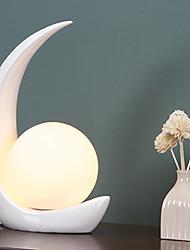 cheap -Artistic / Modern Contemporary Decorative / Adorable / Lovely Table Lamp / Reading Light For Bedroom / Study Room / Office Resin 110-120V / 220-240V White / Black / Red