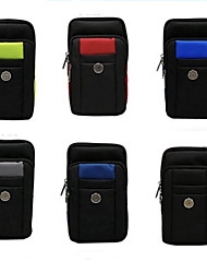 cheap -6.8 inch Case For Universal Card Holder Pouch Bag Solid Colored Soft Oxford Cloth