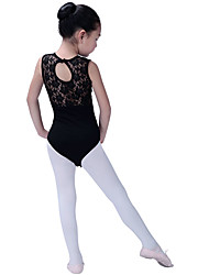cheap -Kids' Dancewear / Ballet Leotards Girls' Training / Performance Cotton Blend Split Joint Sleeveless Leotard / Onesie